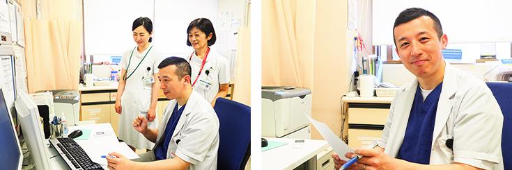 杏雲堂病院 腫瘍内科診察室