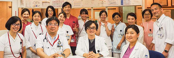 杏雲堂病院 腫瘍内科スタッフ集合写真