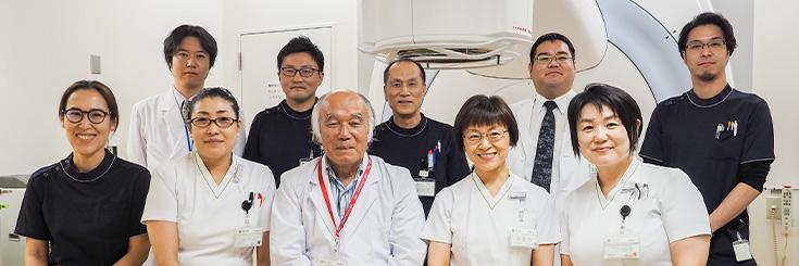 放射線科 スタッフ集合写真 杏雲堂病院